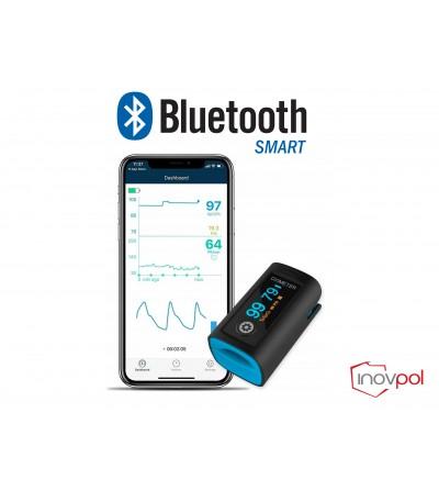 Pulsoksymetr napalcowy PC-60FW Bluetooth