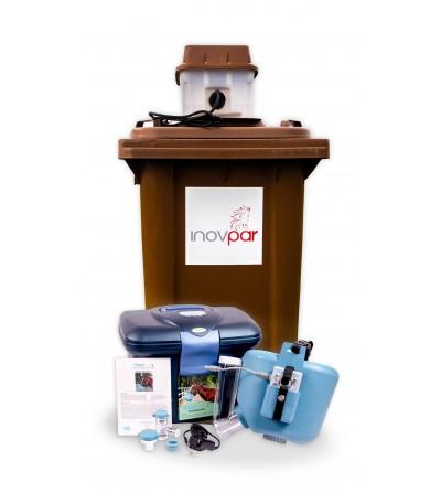 Flexineb® E3 kompletny system niebieski + Parownica siana Inovpar V2
